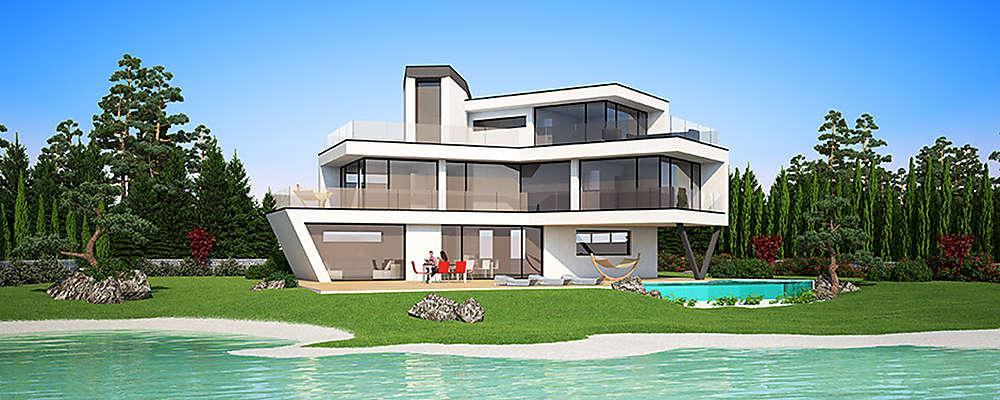 Architektenhaus miami designhaus schillab wien umgebung for Architektenhaus galerie 3