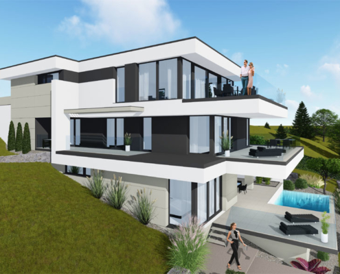 moderne Häuser wkg29-150-1