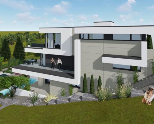 moderne Häuser wkg29-150-2