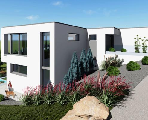 moderne Einfamilienhäuser Smart 3-150
