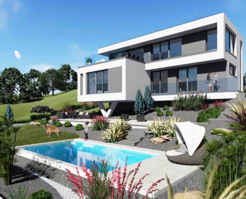 moderne Einfamilienhäuser Smart 4-150