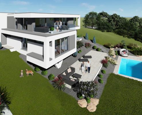 moderne Einfamilienhäuser Smart 5-150