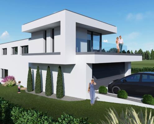 moderne Häuser Modell Rose 5-150