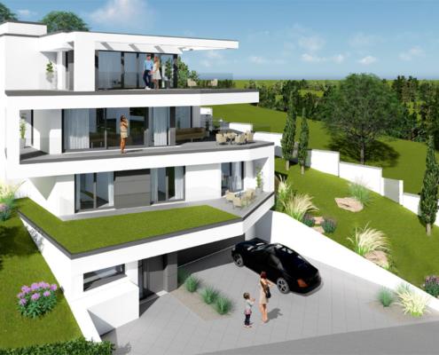 moderne Häuser von Designhaus Schillab wkg38-2