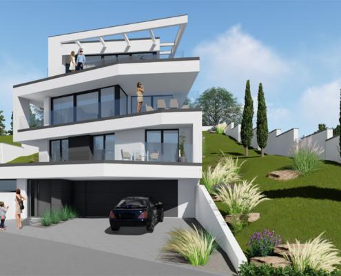 moderne Häuser von Designhaus Schillab wkg38-3