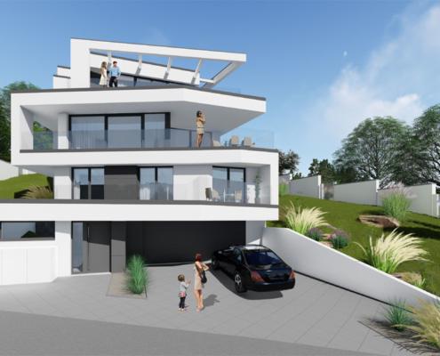 moderne Häuser von Designhaus Schillab wkg38-4