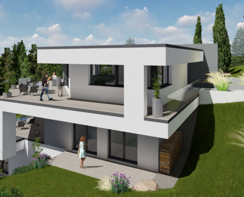 modernes Traumhaus 3kl