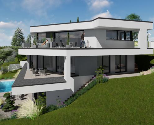 modernes Traumhaus 4kl