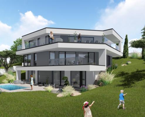 modernes Traumhaus 6kl