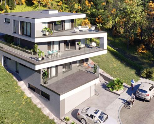 moderne Einfamilienhäuser Sol2