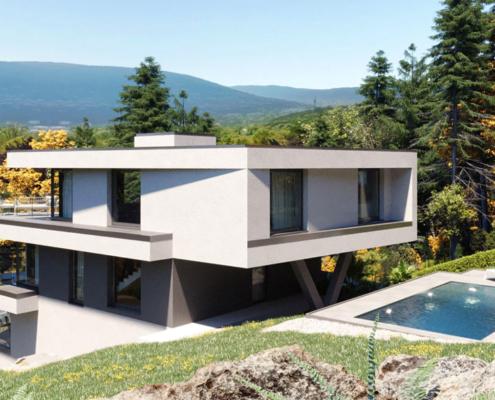 moderne Einfamilienhäuser Sol3