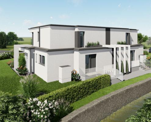 moderne Häuser in Breitenfurt Ost 1