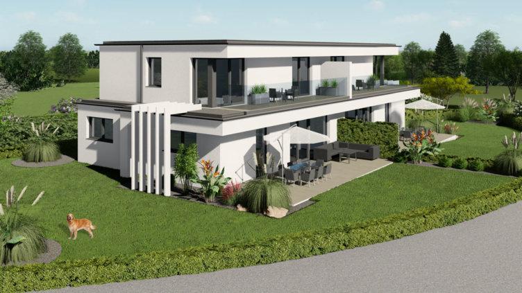 moderne Häuser in Breitenfurt Ost 2