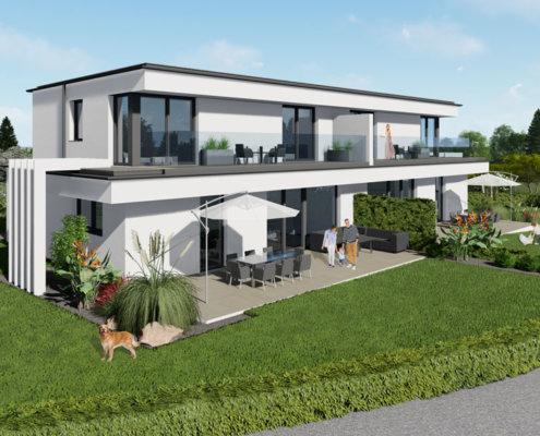 moderne Häuser in Breitenfurt Ost 3