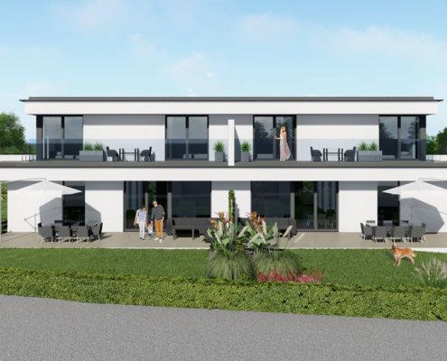 moderne Häuser in Breitenfurt Ost 4